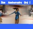Oréane : joyeux anniversaire ! @Manon B