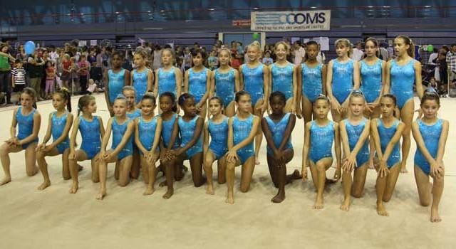 Les gymnastes évoluant à l'US Créteil de gymnastique en 2010