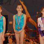 Oréane au championnat départemental individuel de gymnastique 2010