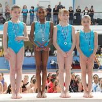 L'équipe de l'US Créteil au championnat régional de gymnastique par équipe 2011