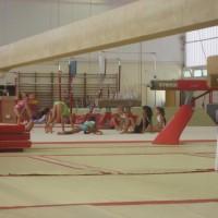 Août 2011 Oréane Léchenault passe son premier test de gymnastique au Pôle de Toulon
