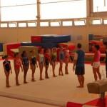 Octobre 2011 : Deuxième test de gymnastique au Pôle de Toulon