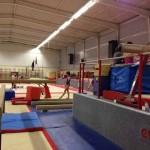 Oréane au Pôle espoir de gymnastique de Toulon