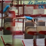 Une gymnaste qui a la carrure d'une championne internationale