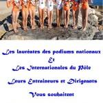 Lauryn, Oréane, Alizée, Océane, Eva, Loan, Morgane, Lea… Les gymnastes du Pôle de Toulon espoir de gymnastique