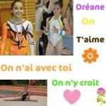 Oréane Léchenault une gymnaste qui aime ses fans