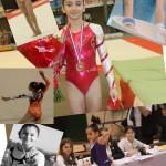 Oréane Léchenault est  l'une des meilleures gymnastes de sa génération