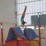 Oréane, la petite gymnaste qui monte !