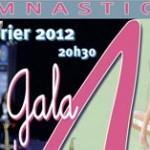 Oréane au Gala des Petits AS de gymnastique 2012 à Avignon