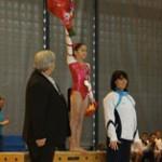 L'US-Créteil de gymnastique met à l'honneur Oréane