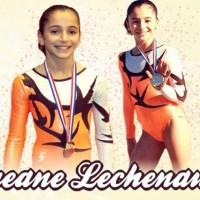Oréane Léchenault une gymnaste en or !