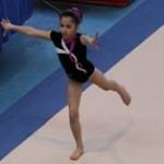 Gymnastique : Oréane prépare le championnat de France Espoir 2012