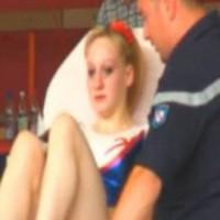 Marine Brevet s'est blessée lors d'un échauffement à Hageunau