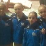 Audrey une fan des gymnastes de Toulon !