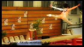 La gymnaste Oréane vue par une fan de gymnastique Margaux