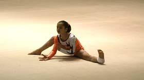Oreane Léchenault au Pôle espoir de gymnastique de Toulon saison 2012