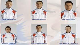 L'équipe de France de gymnastique masculine aux JO de Londres 2012