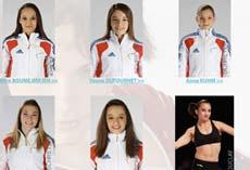 L'équipe de France de gymnastique aux JO de Londres 2012