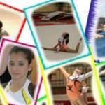 Oréane en stage avec le collectif France espoir de gymnastique à Arques