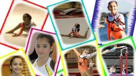 La gymnaste Oréane Léchenault par Johanna