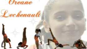 La gymnaste Oréane vue par OréaneGymFan