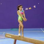 Oréane… Vitesse maximale dans la gym !