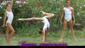 La gymnaste Oréane Léchenault à 12 ans