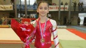 Oréane Léchenault, une prodige de la gymnastique