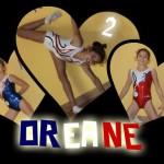 Oréane en justaucorps de l'équipe de France espoir