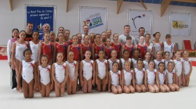 Le collectif France de gymnastique espoir & junior 2012