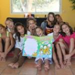 Les gymnastes du Pôle de Toulon chez Oréane