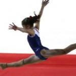 Oréane une gymnaste née !