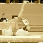 Oréane une gymnaste pleine d'avenir !