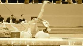 Oréane à la poutre aux Coupes Nationales 2012 à Metz