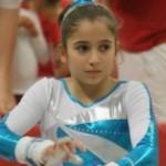 Oréane petite mais grande gymnaste !