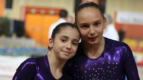 Oréane Léchenault & Morgane Detrez au top 12 de gymnastique