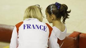 Oréane Léchenault membre de l'équipe de France junior