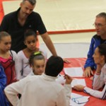 U13 2013 : l'équipe de France junior de gymnastique en Suisse