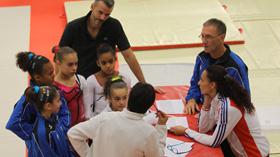 L'Equipe de France junior pour l'U13 2013 !