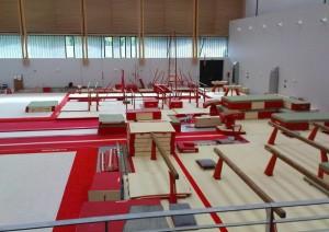 Salle de gymnastique à l'INSPE à Paris