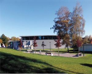 Salle omnisport de Wallisellen en Suisse