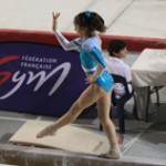 Oréane au championnat de France junior 2014