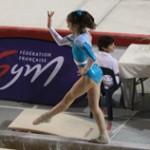 Oréane au championnat de France junior 2014