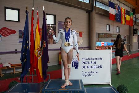 Oréane, une gymnaste en or...