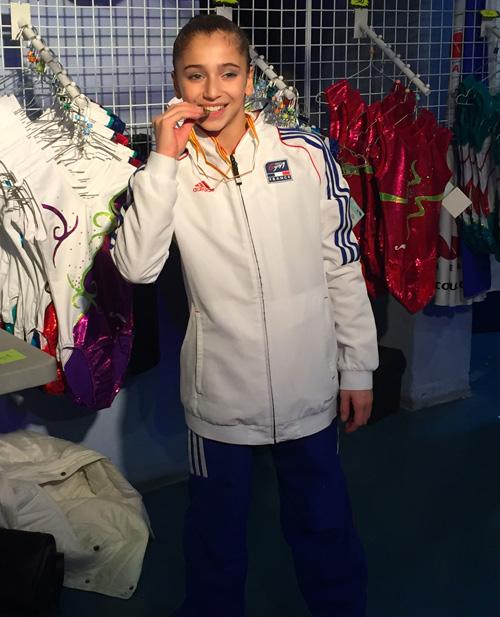 Oréane gymnastique Massilia Master 2015
