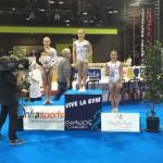 Podium barres asymétriques Top gym 2015 belgique