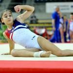 Oréane en bronze et en argent aux finales Top Gym de Charleroi !