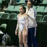 Oreane Lechenault et Loan His los du Woga Classic Gymnastics